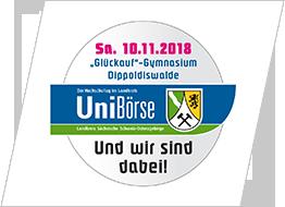 UNIBÖRSE- DER HOCHSCHULTAG IM LANDKREIS - 10. November 2018